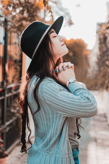 Mystery Seeker - Young Woman Praying